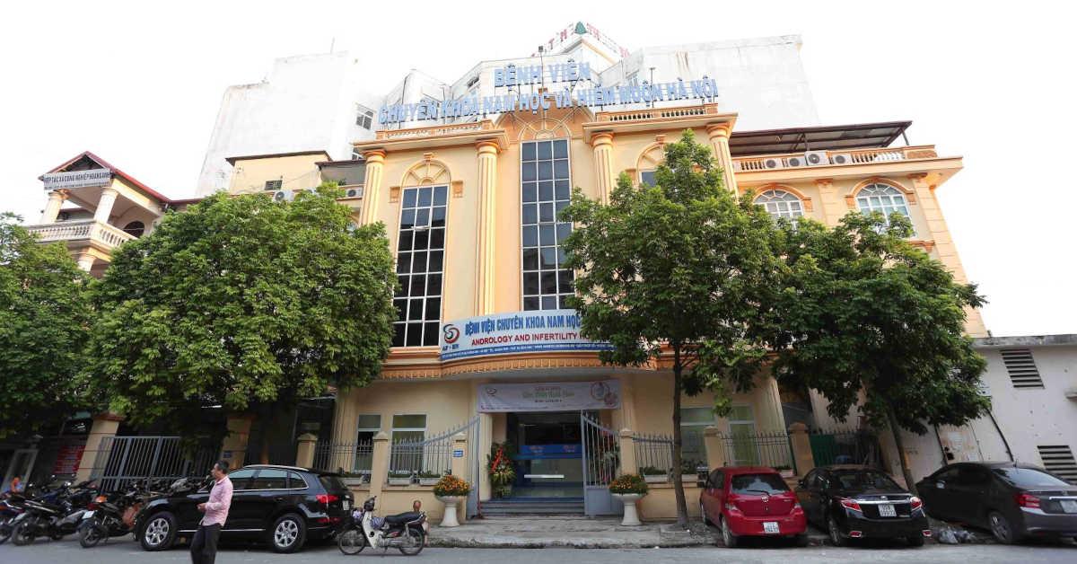Cắt bao quy đầu tại bệnh viện nam học và hiếm muộn Hà Nội