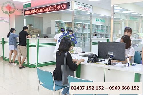 khám phụ khoa tại phòng khám đa khoa quốc tế hà nội