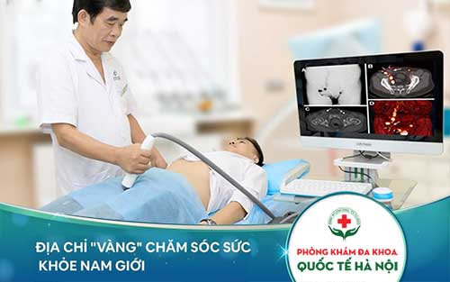 cắt bao quy đầu tại phòng khám đa khoa quốc tế Hà Nội