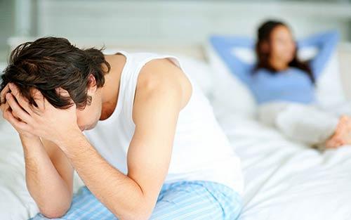 Dấu hiệu của bệnh rối loạn cương dương ở nam giới